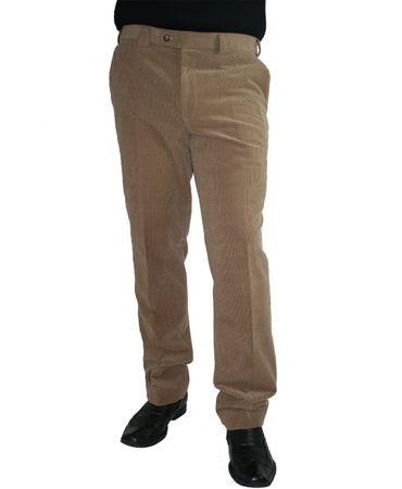 Meyer Herren Stretch Wollcord Hose Barry 2-390 marine, grau oder beige – Bild 1