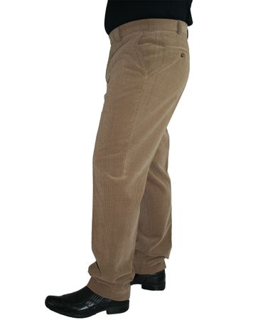 Meyer Herren Stretch Wollcord Hose Barry 2-390 marine, grau oder beige – Bild 2