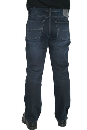 Paddocks Jeans Paddock's Carter 5718 blue black moustache used auch extra lang – Bild 3