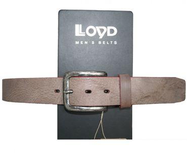 Lloyd Ledergürtel Gürtel Rindsleder 40 mm breit 402 40 schlamm