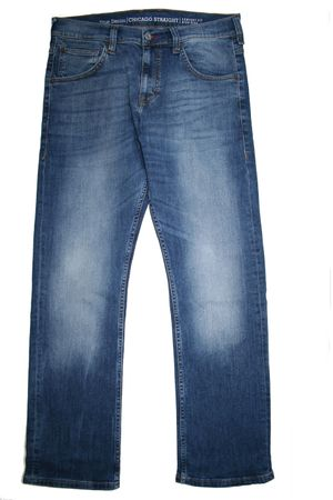 Mustang Stretch Jeans Chicago Straight 3155.5607.52 super stone  Gr. 33/36 – Bild 1