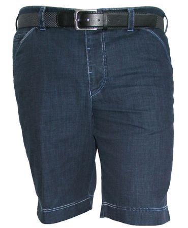 Meyer Herren Shorts B-Ohio 1-611/19 dunkelblau melange – Bild 1