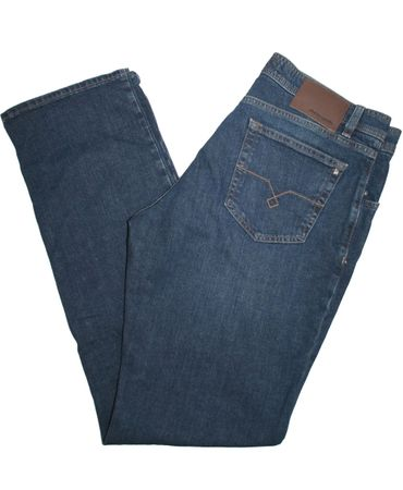 pierre cardin Stretch Jeans Deauville 7200.07.3196 mittelblau used washed – Bild 3