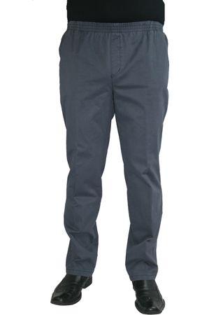 Herren Jeans Stretch Schlupfhose Amberg 28-4015/11 blau mit Struktur – Bild 1