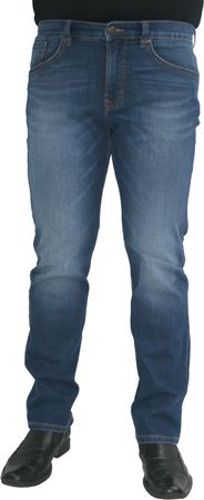 Paddocks Super Stretch Jeans Carter  blue medium moustache Gr. 38/34 – Bild 1