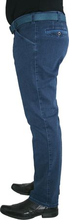 Meyer Herren Stretch Jeans Hose Chicago 1-4166/17 blau blue – Bild 2