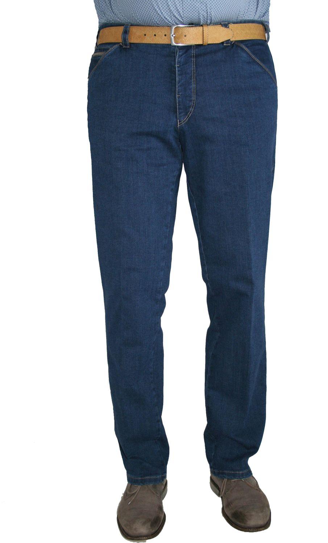 meyer herren stretch jeans hose chicago 1 4166 43 blau blue camel herren mode hosen jeans hosen. Black Bedroom Furniture Sets. Home Design Ideas
