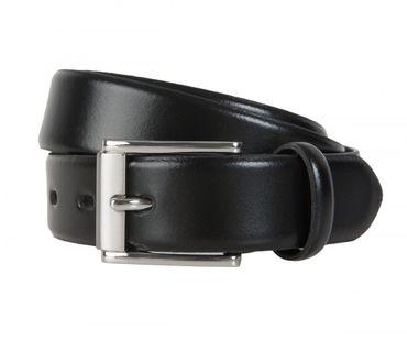 Lloyd Ledergürtel Gürtel 30 mm breit 0112 schwarz