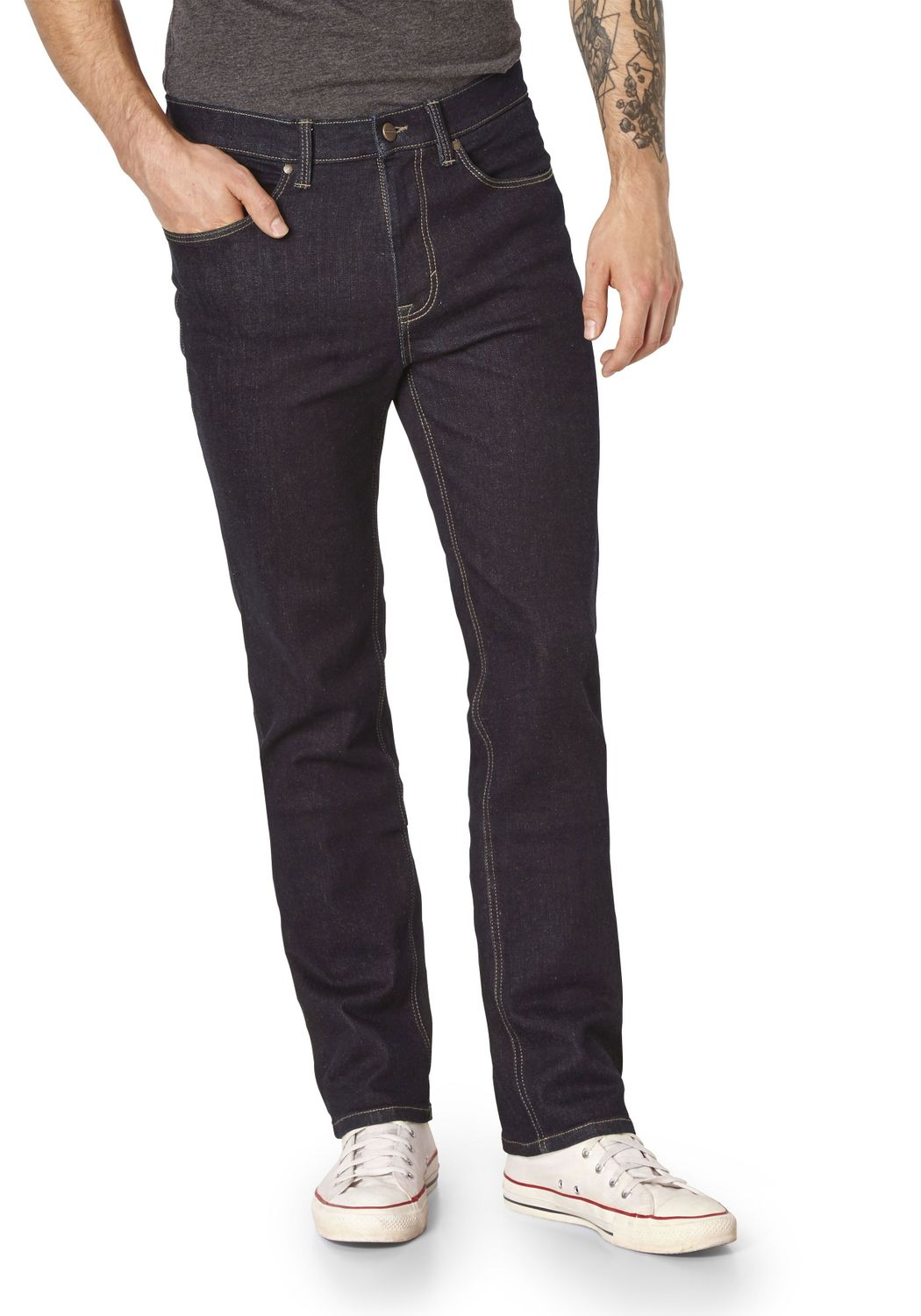 Paddocks Ranger Thermo Stretch Jeans Thermojeans dunkelblau rinse 80089 6203 4399