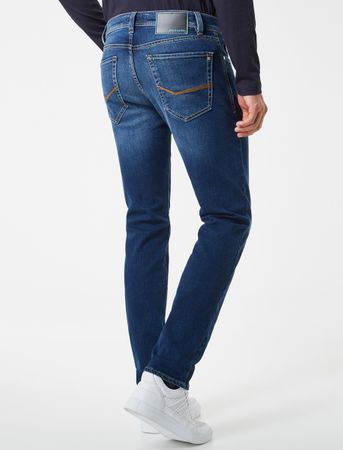 pierre cardin Jeans Lyon Tapered Futureflex Stretch Hose 8880.01.3451 blau used – Bild 2