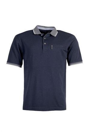 hajo Poloshirt Pique Stay Fresh Kurzarm  Shirt 20081 609 uni marine