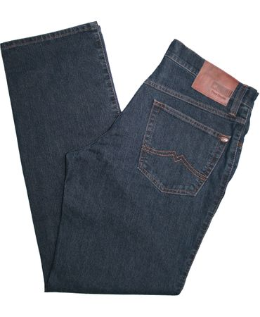 Mustang Stretch Jeans Tramper 111.5000.880 1006742 blue / black  – Bild 2