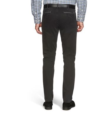 MEYER  Herren Stretch Hose Jeans Dublin mit Gürtel 2-5557 / 08 anthrazit – Bild 2