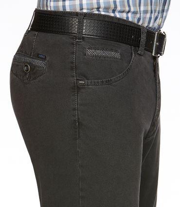 Meyer Herren Stretch Hose Jeans Dublin mit Gürtel 2-5557 / 08 anthrazit – Bild 3