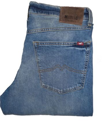 Mustang Jeans Big Sur Stretch 1007199 12509 500 423 stone used – Bild 1