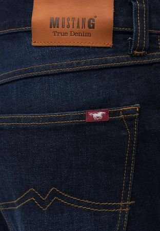 Mustang Jeans Big Sur Stretch 1006920 3169.5000.942 denim blue / blau used – Bild 4