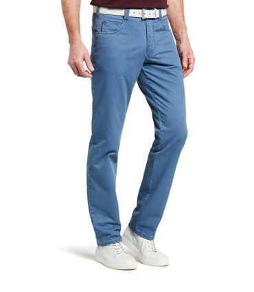 Meyer Herren Stretch Hose Fairtrade Diego mit Gürtel 1-5001 blau oder grau – Bild 6