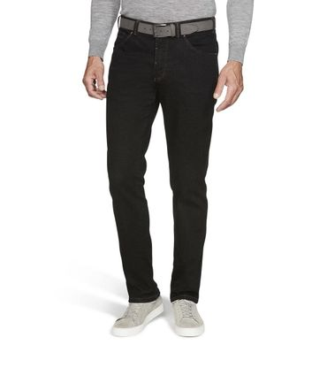Meyer Herren Stretch Hose Jeans Dublin mit Gürtel 9-4541 – Bild 1
