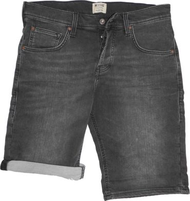 Mustang Herren Short Chicago Shorts Stretch Denim 1007116 4000 683 grau used – Bild 4