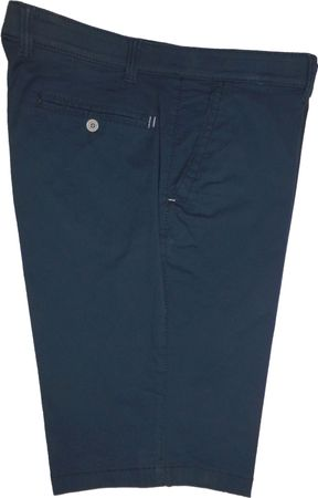 Luigi Morini Herren Short Bermuda Garda Shorts 32-4090/11 dunkelblau gemustert