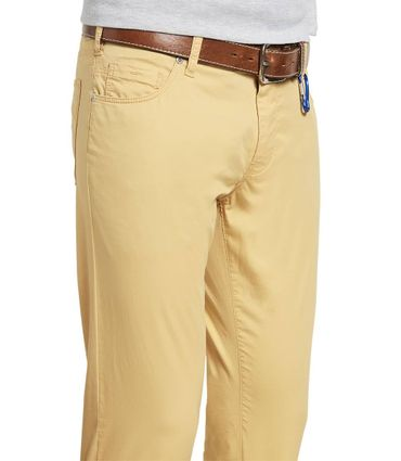 M 5 BY MEYER  Herren Stretch Hose M5 Skinny 6111/42 corn / gelb – Bild 3