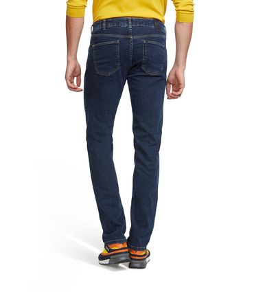 M 5 BY MEYER  Herren Stretch Jeans M5 Skinny 6202/17 dark blue stone – Bild 2