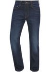 Mustang Jeans Big Sur Stretch 1007947 3169.5000.942 denim blue / blau used 001