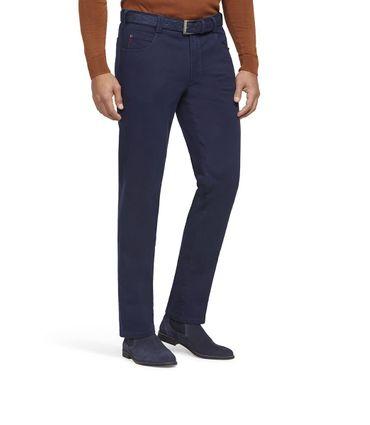 MEYER  Herren Stretch Hose Diego mit Gürtel 2-5552/17 blau – Bild 1