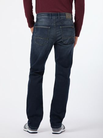 Pioneer Stretch Megaflex Jeans 9740.475.1674 Rando dark used Saddle Stitch – Bild 2