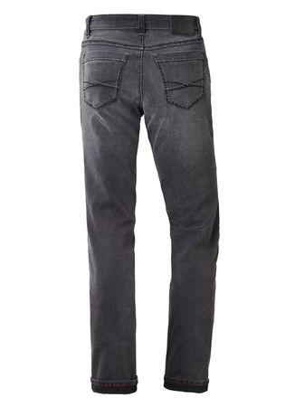 Paddocks Stretch Jeans Ranger Saddle Stitch grau / dark grey soft use 80145 3906 4213 – Bild 2