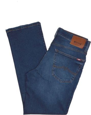 Mustang Jeans Big Sur Stretch 1009297 5000.681 denim blue / blau used