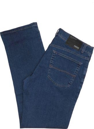 Pioneer Stretch Jeans 9818.05.1144 - Ron mittelblau / stone wash – Bild 1