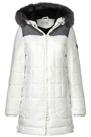 Cecil Damen Outdoormantel Steppjacke pure off white / weiss Art. 100538 – Bild 1