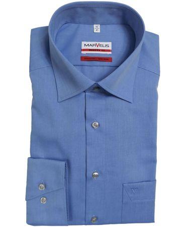 Marvelis Modern Fit Hemden im Doppelpack große Farbauswahl  – Bild 1