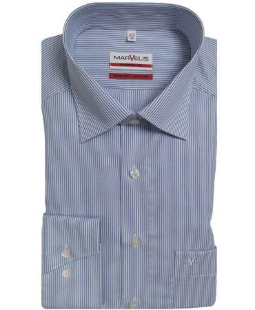Marvelis Modern Fit Hemden im Doppelpack große Farbauswahl  – Bild 8