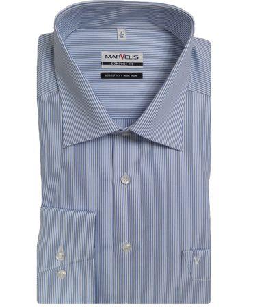 Marvelis Comfort Fit Hemden im Doppelpack große Farbauswahl  – Bild 1