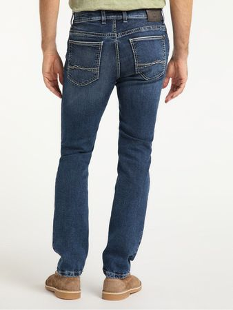 Pioneer Stretch Megaflex Jeans 9923.350.1654 Rando blau used Saddle Stitch – Bild 2