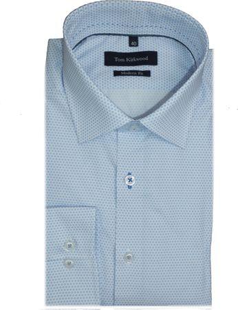 Hemd Modern Fit 109-493-21 blau gemustert