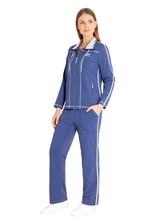 hajo Damen Freizeitanzug Haus-Anzug Art. 80983 602 jeans / blau – Bild 1