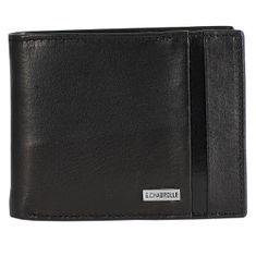 Portemonnaie / Geldbeutel Herren Georges Chabrolle, schwarz glatt, 90001 – Bild 1