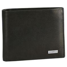 Portemonnaie / Geldbeutel Herren Georges Chabrolle, schwarz glatt, 90005 – Bild 1