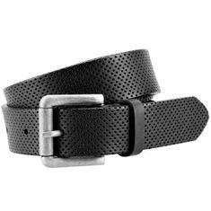 LINDENMANN The Art of Belt Ledergürtel Damen / Gürtel Damen, Vollrindleder, schwarz – Bild 1
