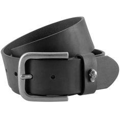 Ledergürtel Herren / Gürtel Damen The Art of Belt unisex, schwarz, 90052 – Bild 1