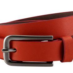 LINDENMANN The Art of Belt Ledergürtel Damen / Gürtel Damen, Nappaledergürtel, rot – Bild 2