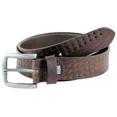 Ledergürtel Damen / Herren LINDENMANN The Art of Belt casual unisex, 3292 braun – Bild 1