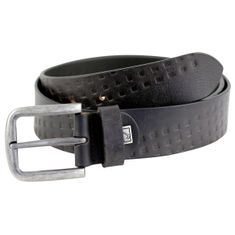Ledergürtel Damen / Herren LINDENMANN The Art of Belt casual unisex, 3292 schwarz – Bild 1
