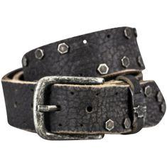 Ledergürtel Damen / Herren The Art of Belt Premium, Vollrindleder casual unisex, 95009 schwarz – Bild 1