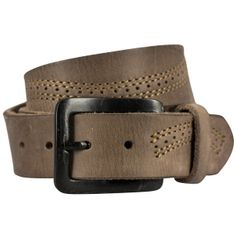 Ledergürtel Damen / Herren The Art of Belt Premium, Vollrindleder casual unisex, 95000 natur – Bild 1