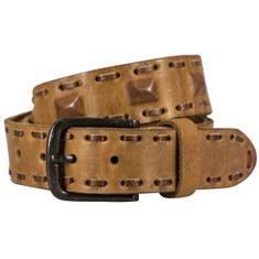Ledergürtel Damen / Herren The Art of Belt Premium, Vollrindleder casual unisex, 95006 cognac – Bild 1