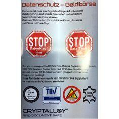 Bruno Banani Damenbörse / Geldbeutel Damen, CRYPTALLOY Datenschutz Geldbörse RFID Blocker, Vollrindleder Nappa, taupe – Bild 3